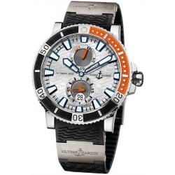 Ulysse Nardin Maxi Marine Diver Titanium Mens Watch 263-90-3/91