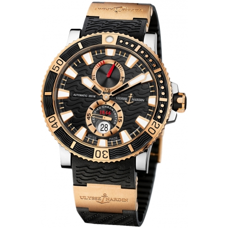 Ulysse Nardin Maxi Marine Diver Titanium Mens Watch 265-90-3/92