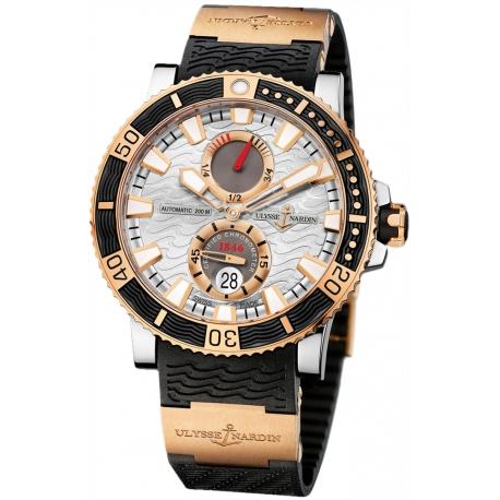 Ulysse Nardin Maxi Marine Diver Titanium Mens Watch 265-90-3/91