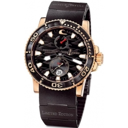 Ulysse Nardin Maxi Marine Diver Black Surf Watch 266-37LE-3B