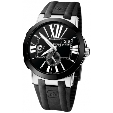 Ulysse Nardin Executive Dual Time Mens Watch 243-00-3/42
