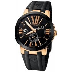 Ulysse Nardin Executive Dual Time Mens Watch 246-00-3/42