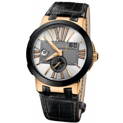 Ulysse Nardin Executive Dual Time Mens Watch 246-00/421