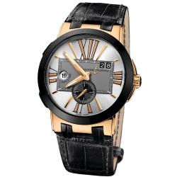 Ulysse Nardin Executive Dual Time Mens Watch 246-00/421