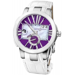 Ulysse Nardin Executive Dual Time Womens Watch 243-10/30-07