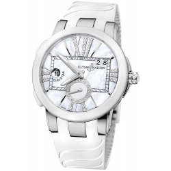 Ulysse Nardin Executive Dual Time Womens Watch 243-10-3/391
