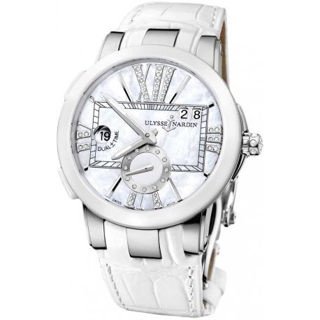 Ulysse Nardin Executive Dual Time Ceramic Watch 243-10/391