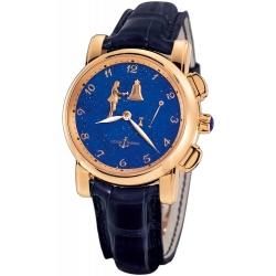 Ulysse Nardin Hourstriker Mens Rose Gold Watch 6106-103/e3