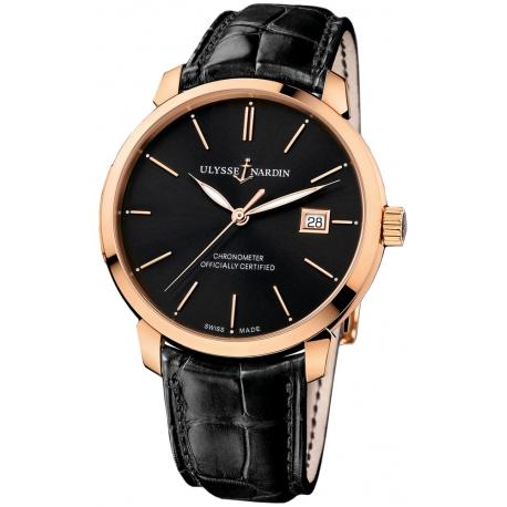 Ulysse Nardin San Marco Rose Gold Mens Watch 8156-111-2/92