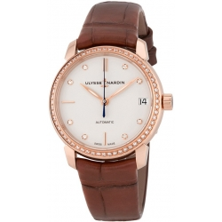 Ulysse Nardin Classico Automatic Womens Watch 8106-116B-2/990