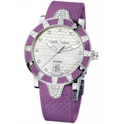 Ulysse Nardin Diver Purple Womens Watch 8103-101E-3C/10.17