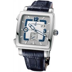 Ulysse Nardin Quadrato Stainless Steel Mens Watch 243-92/601