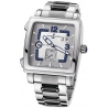 Ulysse Nardin Quadrato Mens Steel Bracelet Watch 243-92-7/601