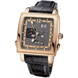Ulysse Nardin Quadrato 18K Rose Gold Mens Watch 326-90/69