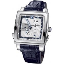 Ulysse Nardin Quadrato 18K White Gold Mens Watch 320-90/61