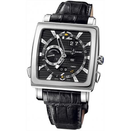 Ulysse Nardin Quadrato Perpetual Calendar Mens Watch 320-90/92