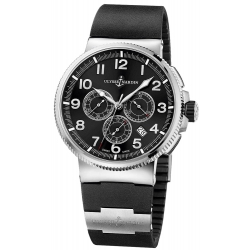 Ulysse Nardin Marine Chronograph Titanium Watch 1503-150-3/62