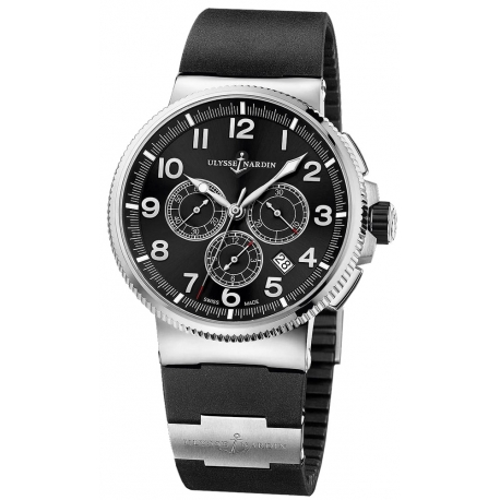 Ulysse Nardin Marine Chronograph Titanium Watch 1503-150-3/62/62