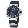Ulysse Nardin Marine Blue Chronometer Watch 1183-126-3/63