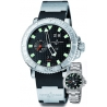 Ulysse Nardin Marine Series Stainless Steel Mens Watch 333-88-3/92