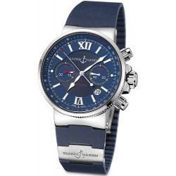 Ulysse Nardin Marine Series Mens Blue Dial Watch 353-66-3/323