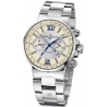 Ulysse Nardin Marine Mens Steel Bracelet Watch 353-66-7/314