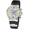 Ulysse Nardin Marine Series Mens Rubber Band Watch 353-66-3/314