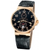 Ulysse Nardin Marine Series Rose Gold Mens Watch 266-66/62