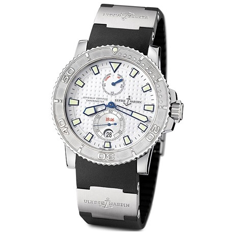 Ulysse Nardin Marine Series Stainless Steel Mens Watch 263-33-3