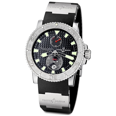 Ulysse Nardin Marine Series Black Dial Mens Watch 263-33-3/92