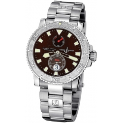 Ulysse Nardin Marine Burgundy Dial Mens Watch 263-33-7/95