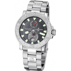 Ulysse Nardin Marine Series Mens Steel Bracelet Watch 263-33-7/91