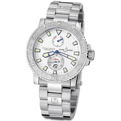 Ulysse Nardin Marine Series Silver Dial Mens Watch 263-33-7