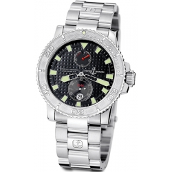 Ulysse Nardin Marine Series Steel Bracelet Mens Watch 263-33-7/92