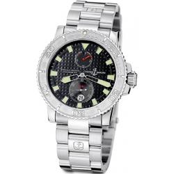 Ulysse Nardin Marine Series Steel Bracelet Mens Watch 263-33-7/92