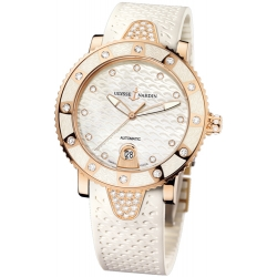 Ulysse Nardin Lady Marine Diver Rose Gold Watch 8106-101EC-3C/10