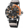 Ulysse Nardin Marine Aqua Steel Case Mens Watch 333-90-3