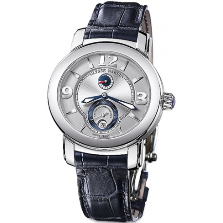 Ulysse Nardin M.Palladium 950 Silver Dial Mens Watch 278-70/609