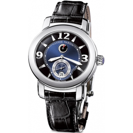 Ulysse Nardin M.Palladium 950 Black Blue Dial Watch 278-70/632