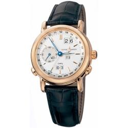 Ulysse Nardin GMT Perpetual Rose Gold Mens Watch 326-22
