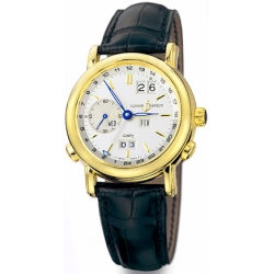 Ulysse Nardin GMT Perpetual Yellow Gold Mens Watch 321-22