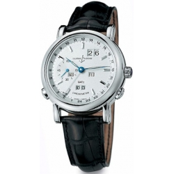 Ulysse Nardin GMT Perpetual White Gold Mens Watch 320-22