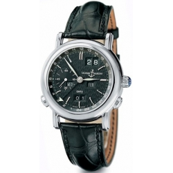 Ulysse Nardin GMT Perpetual White Gold Mens Watch 320-22/92