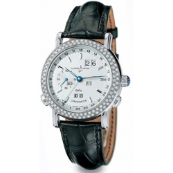 Ulysse Nardin GMT Perpetual Mens Gold Diamond Watch 320-28