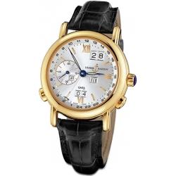 Ulysse Nardin GMT Perpetual Yelow Gold Mens Watch 321-22/31