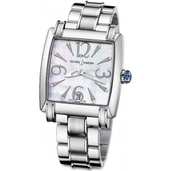 Ulysse Nardin Caprice Steel Bracelet Womens Watch 133-91-7/691