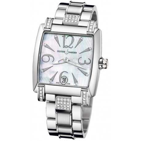Ulysse Nardin Caprice Steel Bracelet Diamond Watch 133-91C-7C/691