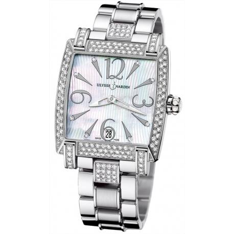Ulysse Nardin Caprice Diamond Bracelet Watch 133-91AC-7C/691