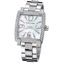 Ulysse Nardin Caprice Diamond Steel Bracelet Watch 133-91AC-7C/691