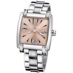 Ulysse Nardin Caprice Womens Steel Bracelet Watch 133-91-7/06-05